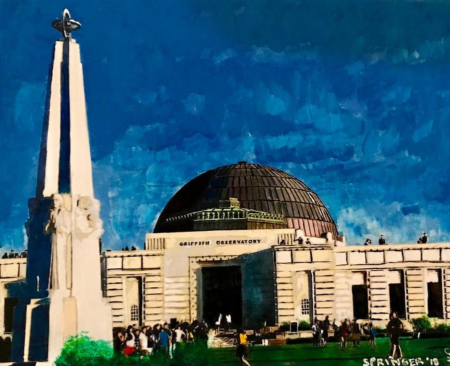 Griffith Observatory by Gary Springer