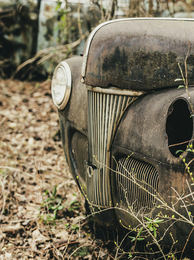 Car Photograph - Grill by John Halligan
