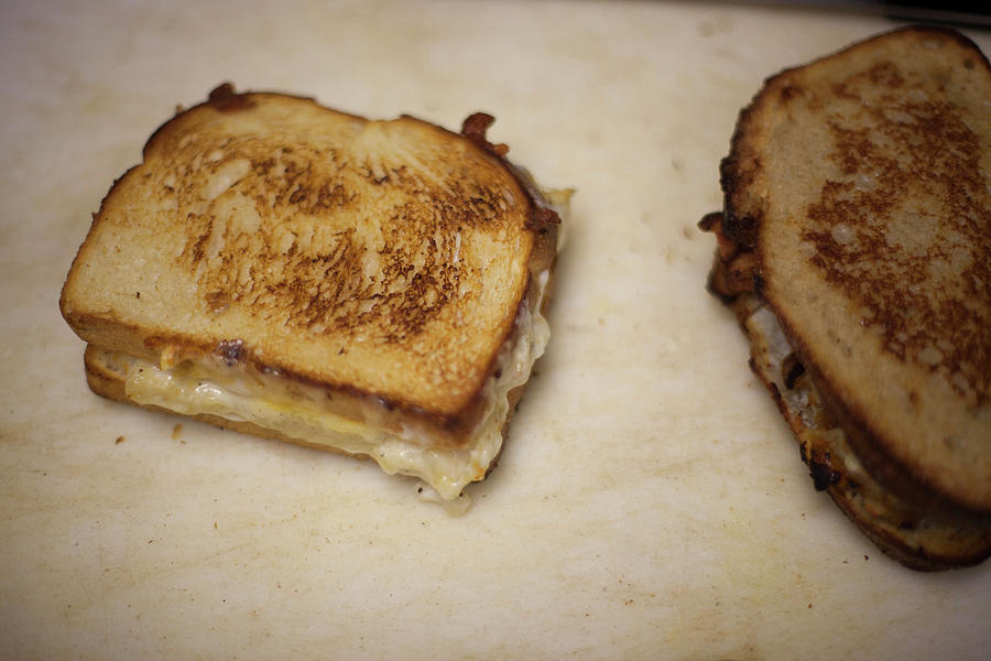 Grilled Cheese Sandwich Photograph by Elisa Cicinelli