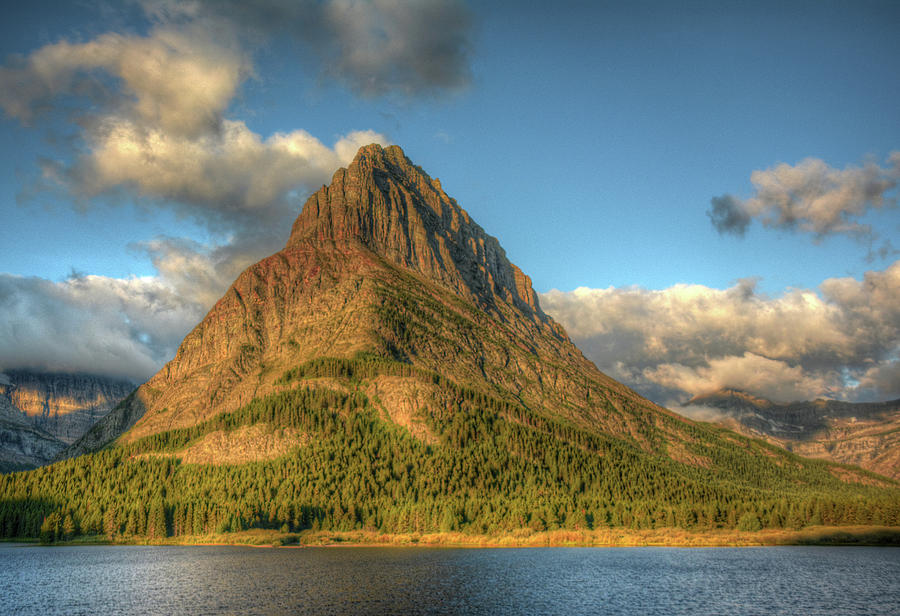 Grinnell Point at Sunrise by Michael Kirk