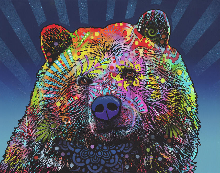 Grizz Mixed Media - Grizz by Dean Russo