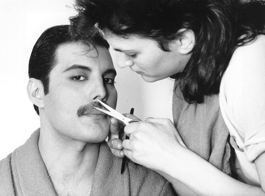 Grooming Freddie Photograph by Steve Wood