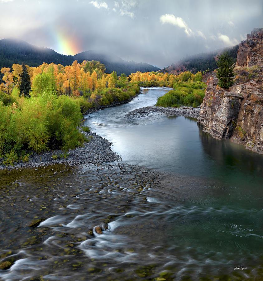Gros Ventre Autumn by Leland D Howard