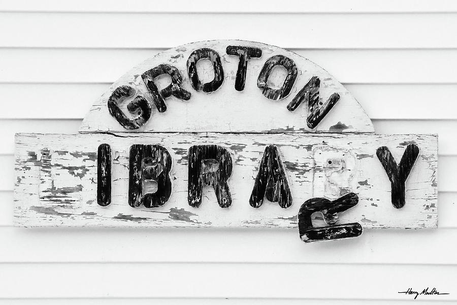 Groton Library by Harry Moulton