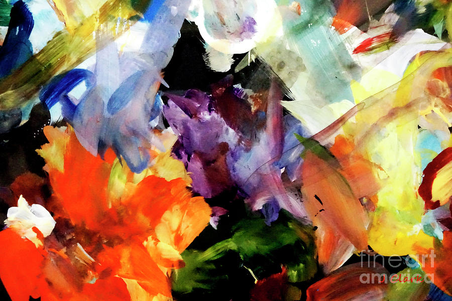 Group Painting - Group Dynamic by John Clark