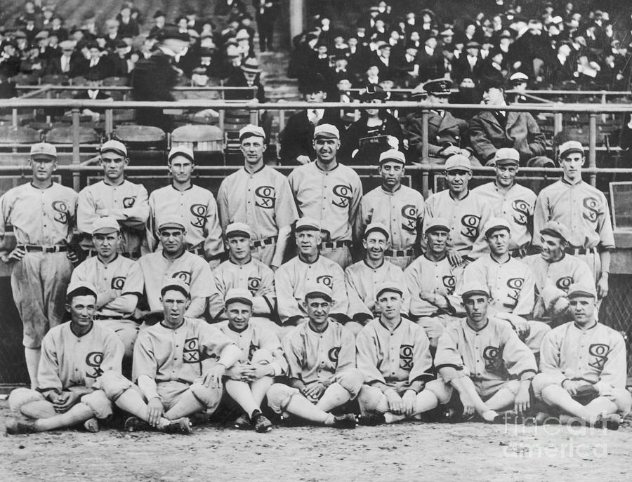 Group Shot Of 1919 White Sox Photograph by Bettmann