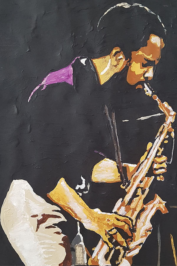 Grover Washington Jr by Rachel Natalie Rawlins