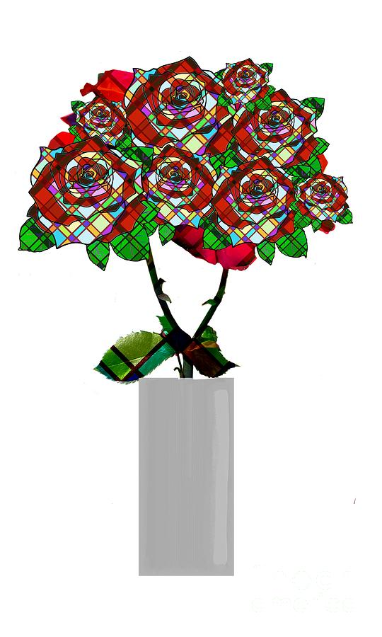 Growing Glass Roses by Priscilla Wolfe