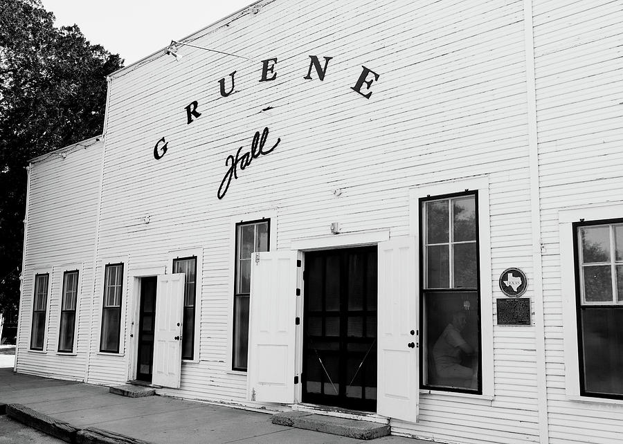 Gruene Hall Tx Photograph