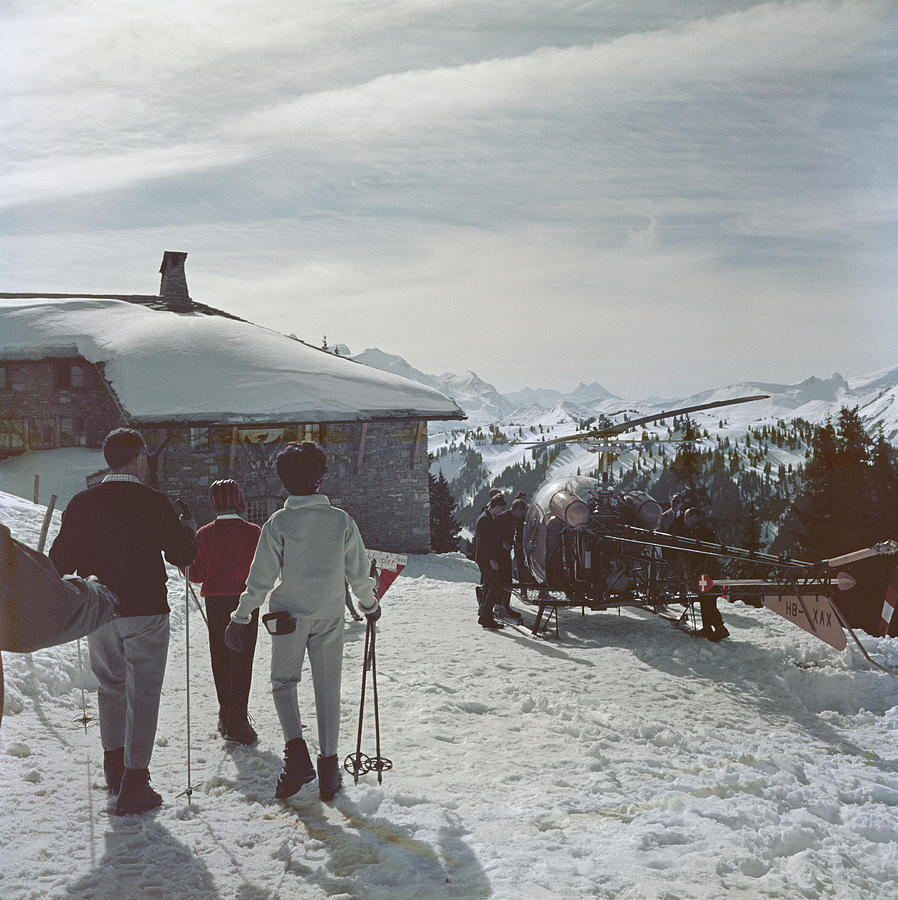 Gstaad Photograph by Slim Aarons