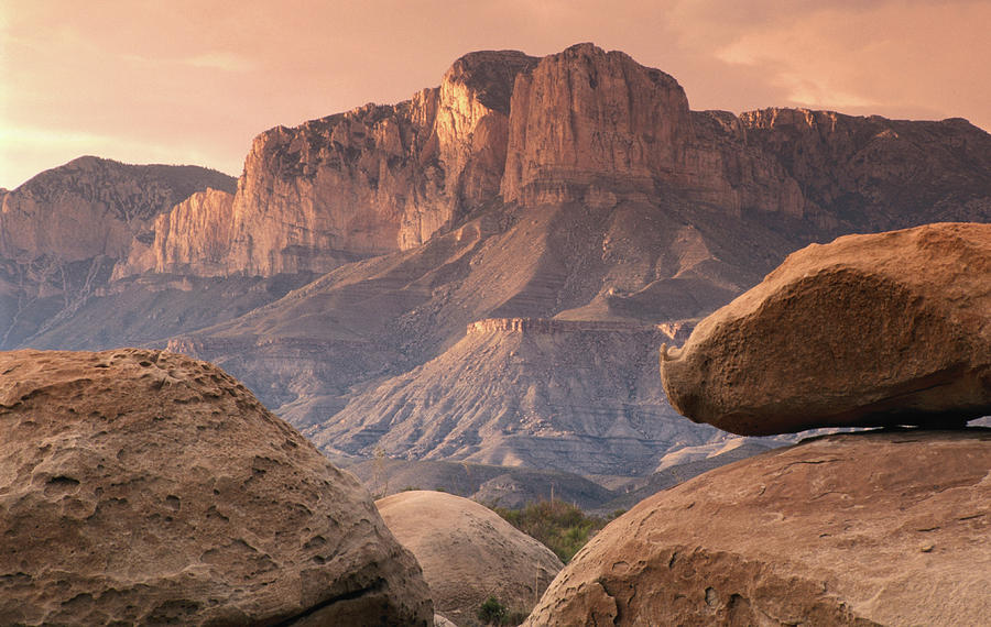 Guadalupe Peak, El Capitan, Guadalupe Photograph by Witold Skrypczak