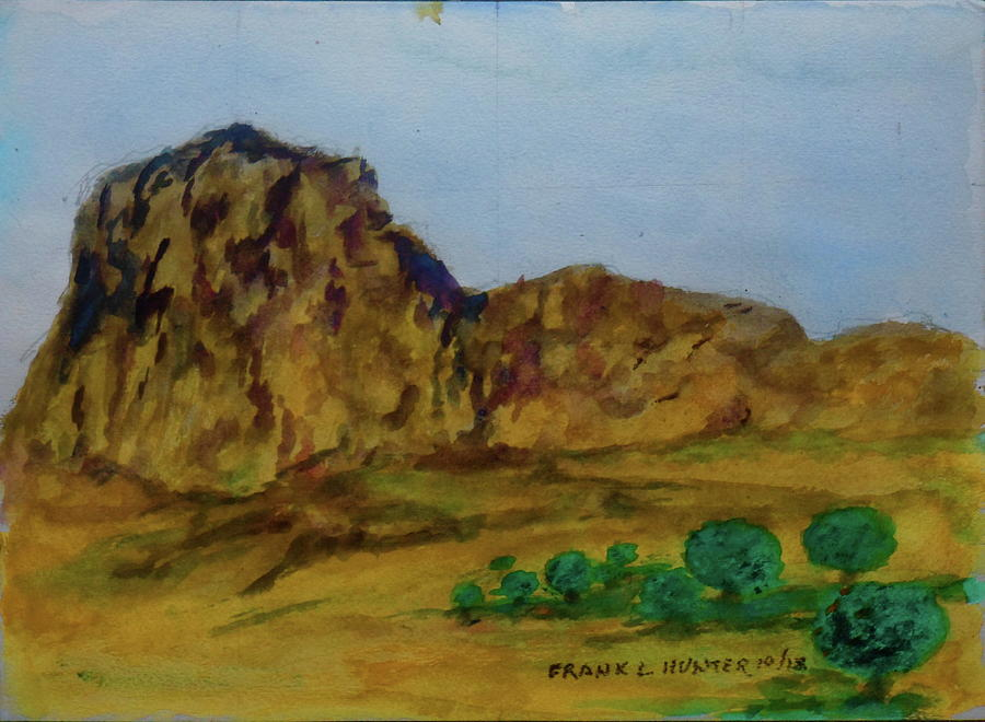 Guadalupe Peak Texas by Frank Hunter