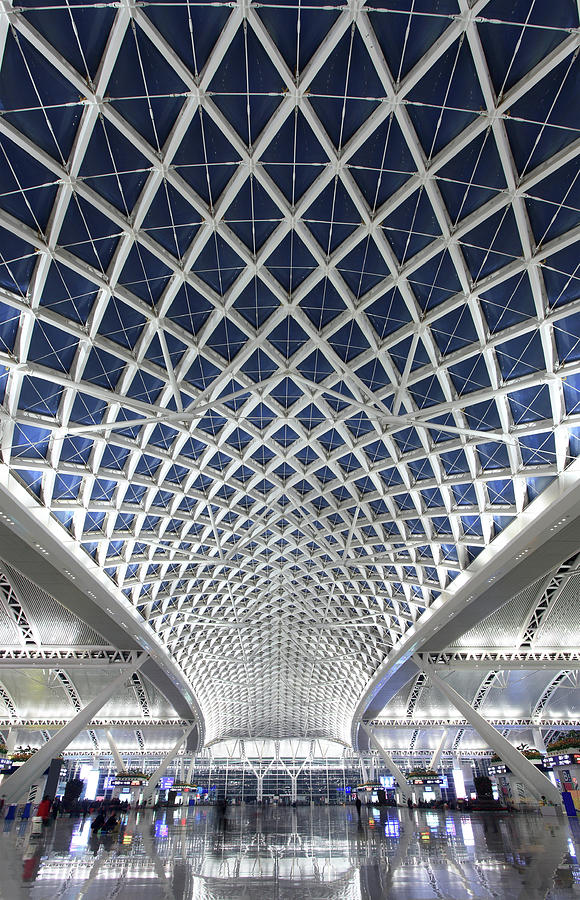 Guangzhou Railway Station Photograph by Real444