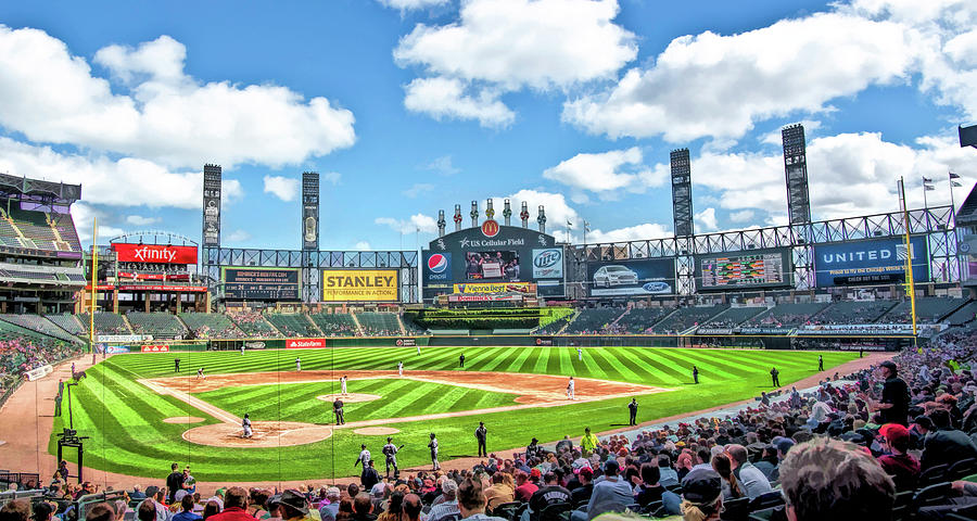 Awesome Guaranteed Rate Field Chicago White Sox Baseball Ballpark Stadium Onthecornerstone Fun Painted Chair Ideas Images Onthecornerstoneorg