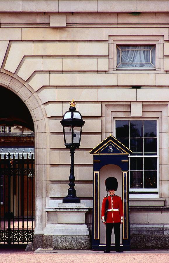 Guard At Buckingham Palace, London Photograph by Richard Ianson