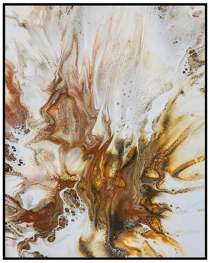 Acrylic Painting - Guardian Angel By Teresa Wilson by Teresa Wilson