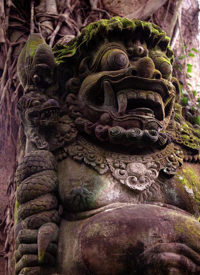 Guardian of the Monkey Forest by Melanie Maslaniec