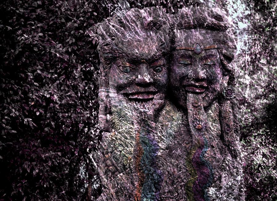 Guardians of the rain forest by Melanie Maslaniec