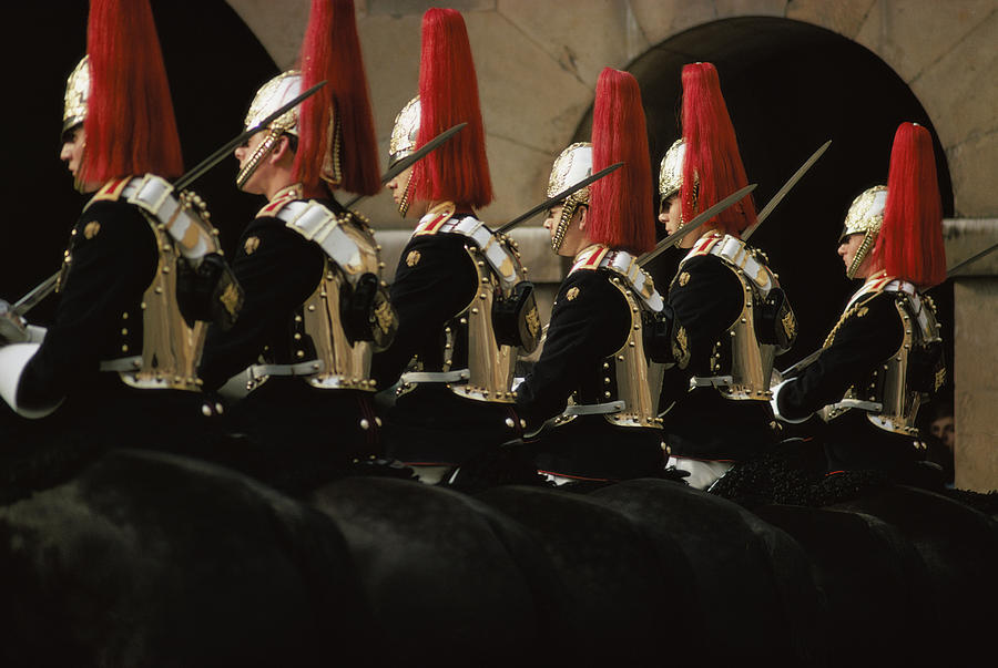 Guards Ceremony Photograph by Epics