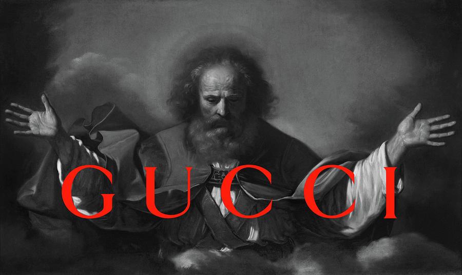 Gucci Painting - Gucci-4 by Nikita