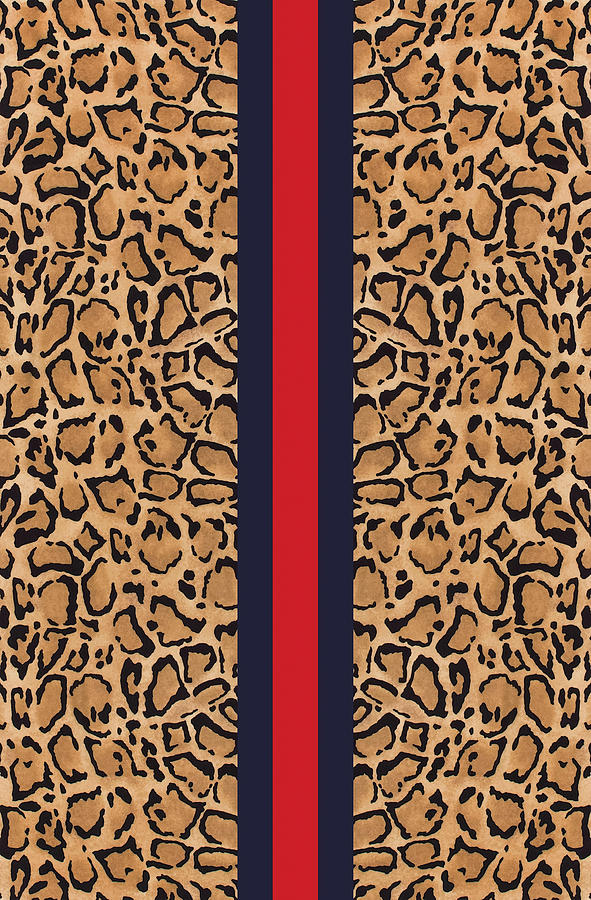 Gucci Painting - Gucci Leopard Print-2 by Nikita
