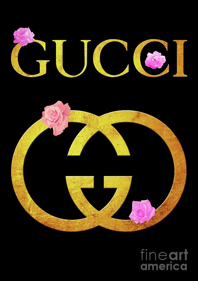 Gucci Logo - 65 Digital Art by Prar K Arts