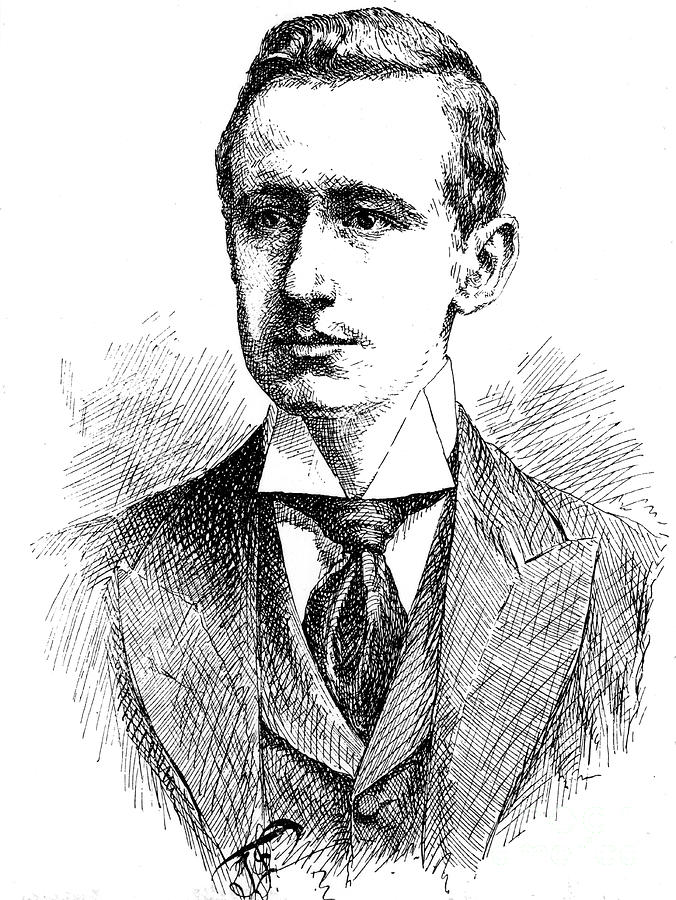 Guglielmo Marconi, Italian Physicist Drawing by Print Collector
