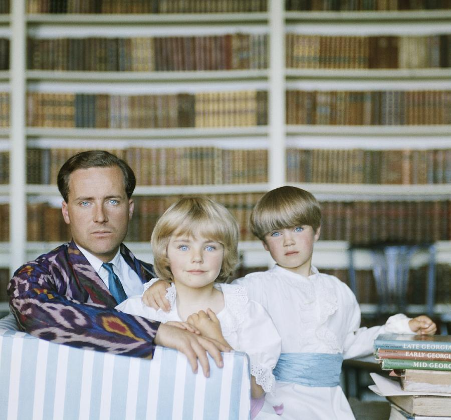Guinness Family Photograph by Slim Aarons