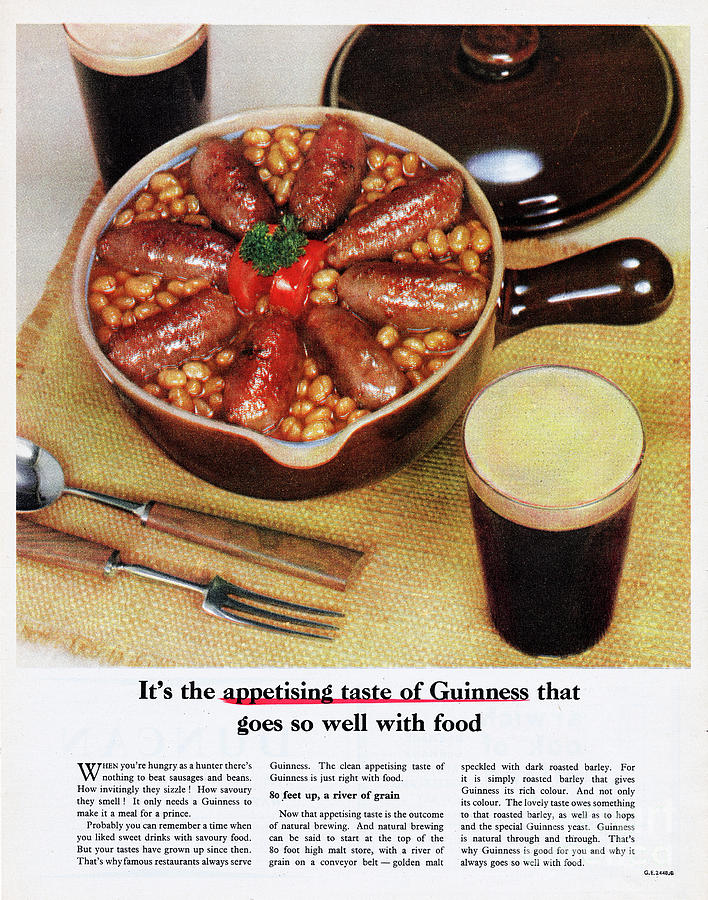 Guinness Stout Photograph by Picture Post