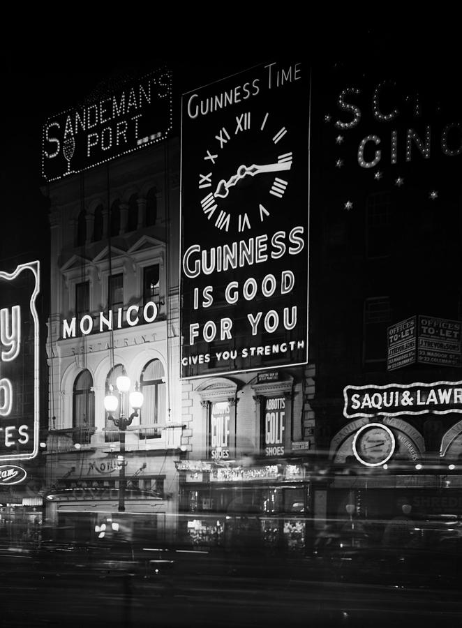 Guinness Time Photograph by General Photographic Agency