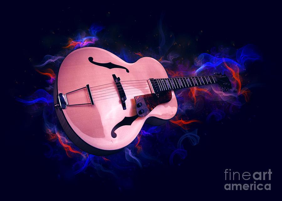 Guitar Art by Ian Mitchell