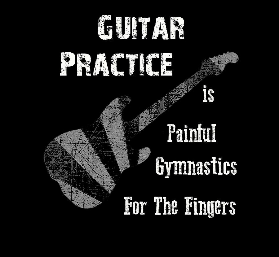 Guitar Practice is Painful by Guitar Wacky