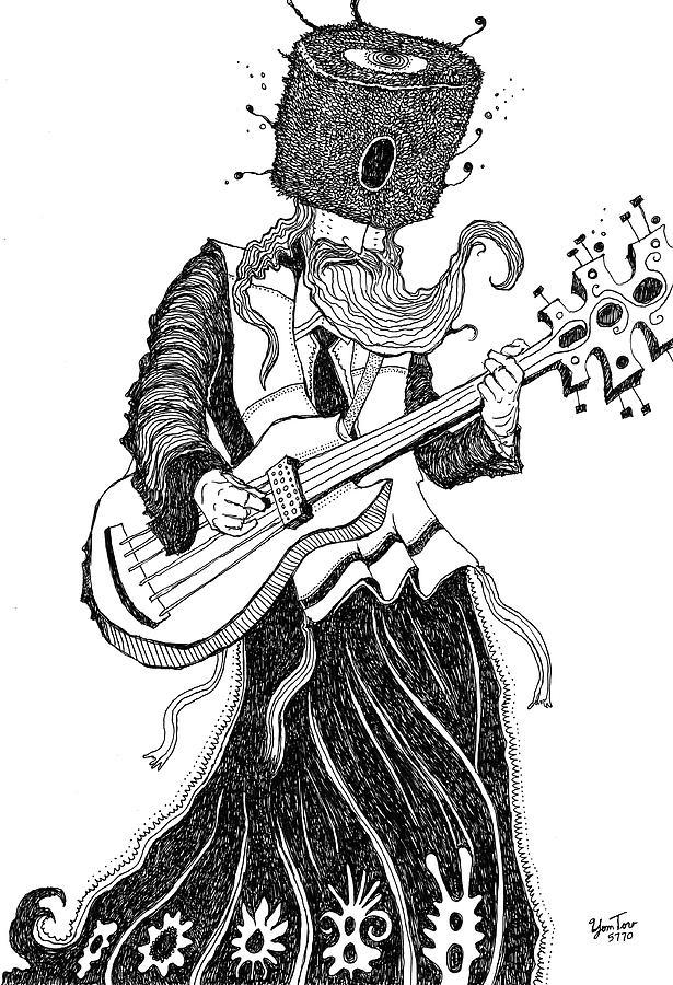 Guitar by Yom Tov Blumenthal