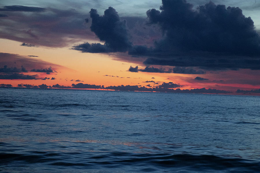 Gulf Clouds Closing In by Linda Ritlinger