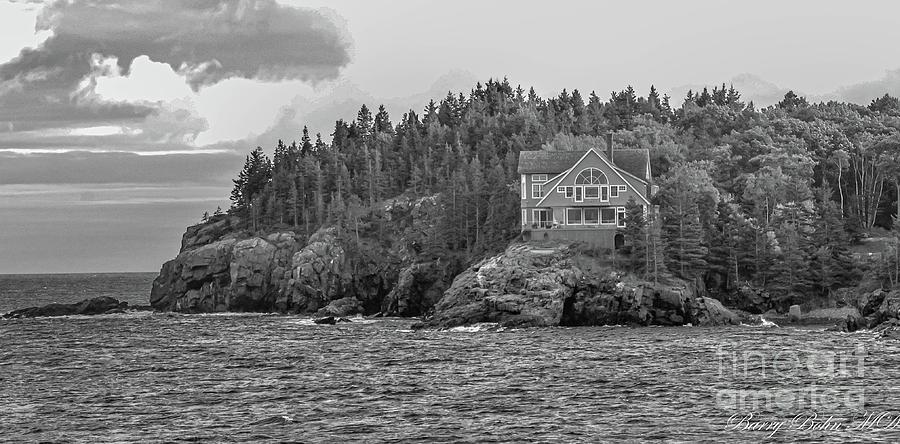 Gulf of Maine BW by Barry Bohn