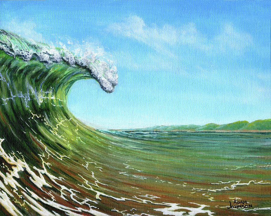 Gulf of Mexico Surf by Adam Johnson