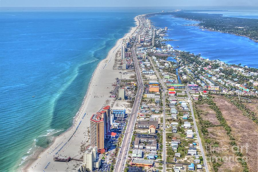 Gulf Shores 7124 by Gulf Coast Aerials -