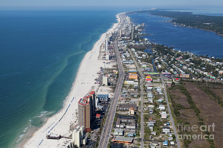 Gulf Shores 7124N by Gulf Coast Aerials