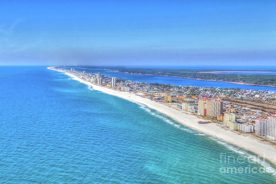 Gulf Shores Beaches 1335 Tonemapped by Gulf Coast Aerials -