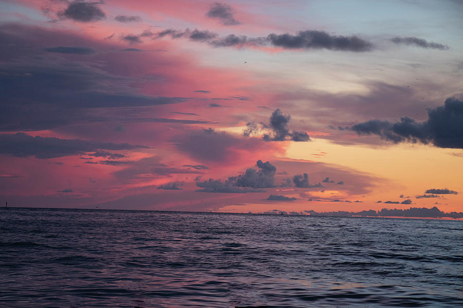Gulf Sky on Fire by Linda Ritlinger