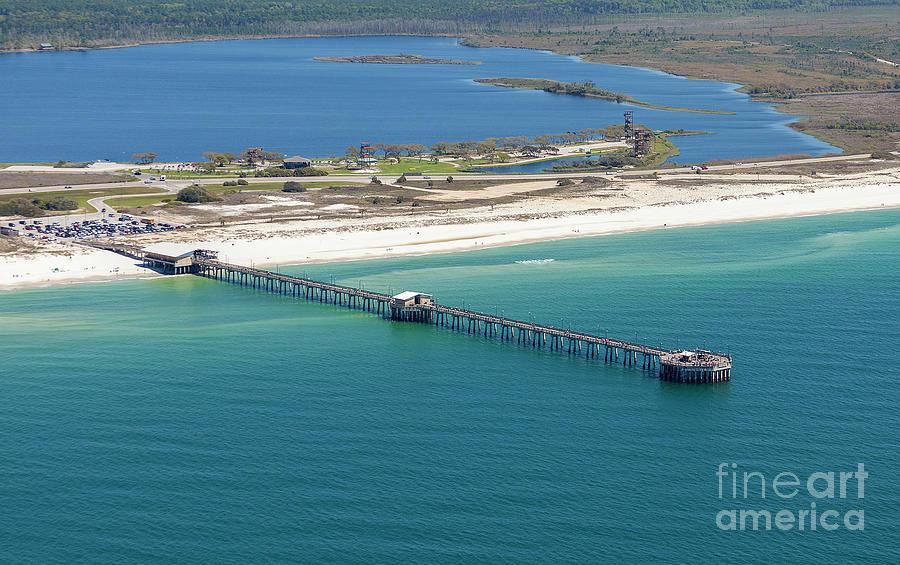 Gulf State Park Pier 7464N by Gulf Coast Aerials -