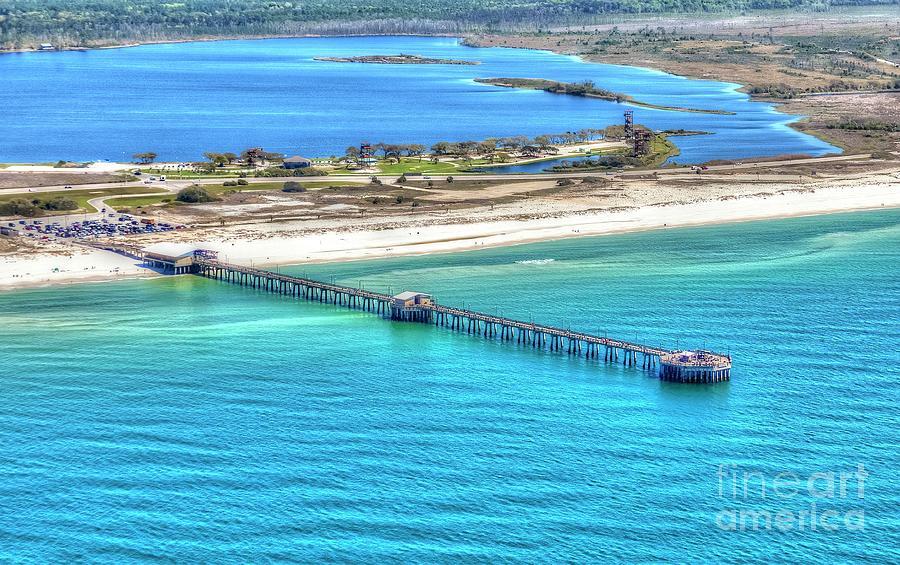 Gulf State Park Pier 7464P3 by Gulf Coast Aerials -