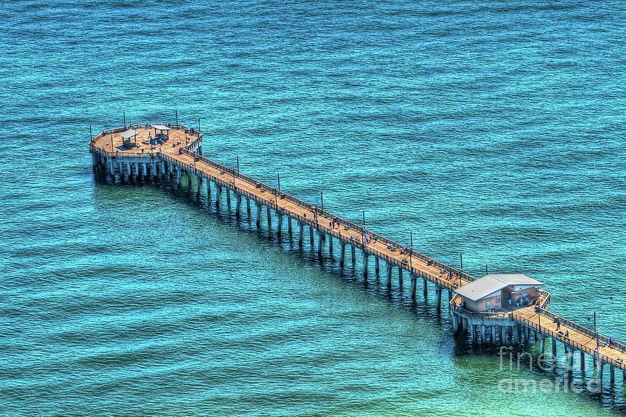 Gulf State Park Pier by Gulf Coast Aerials -