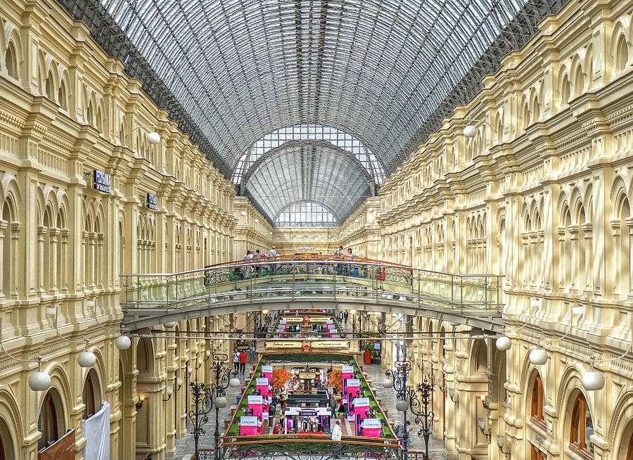 GUM, Moscow by Photos By Pharos