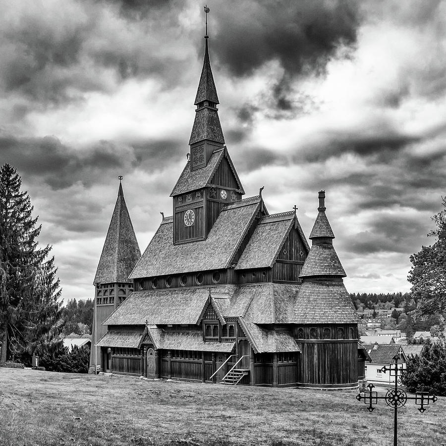 Gustav Adolf Stave Church, Harz by Andreas Levi