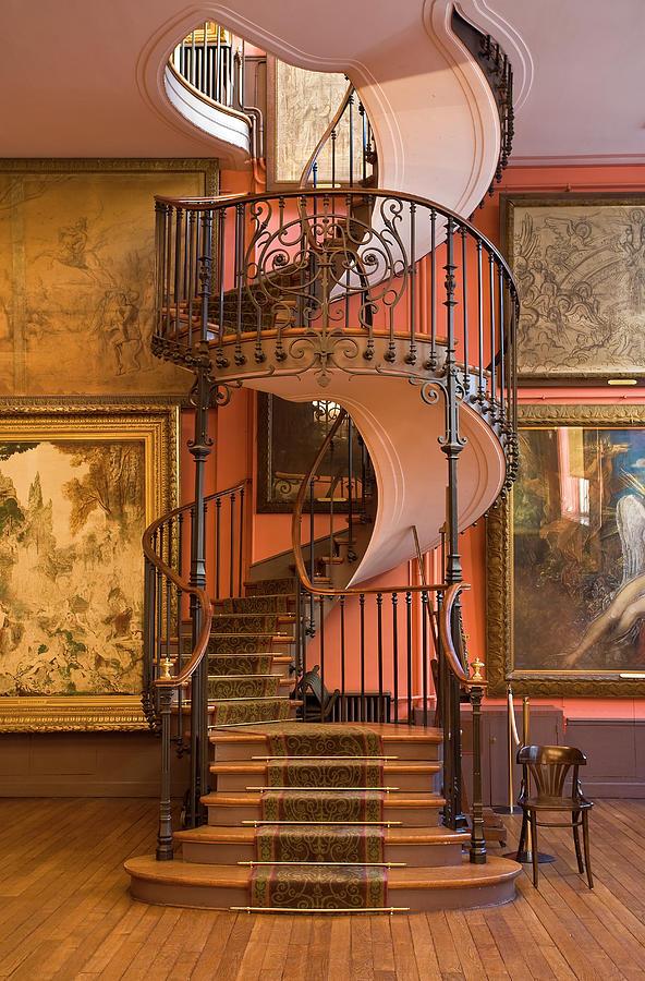 Gustave Moreau Museum, Paris, France Photograph by Sylvain Sonnet