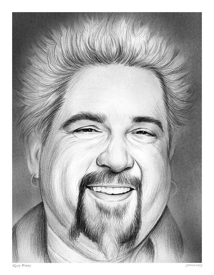 Guy Fieri Drawing