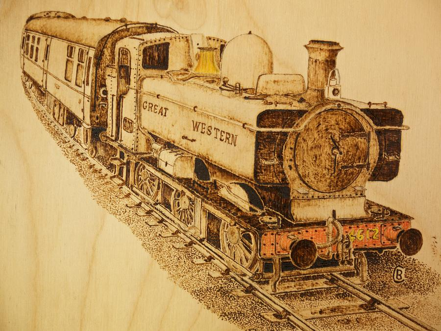GWR class 57 pannier tank engine by Brian Case