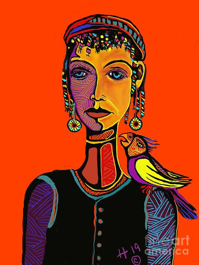 Gypsy parrot by Hans Magden