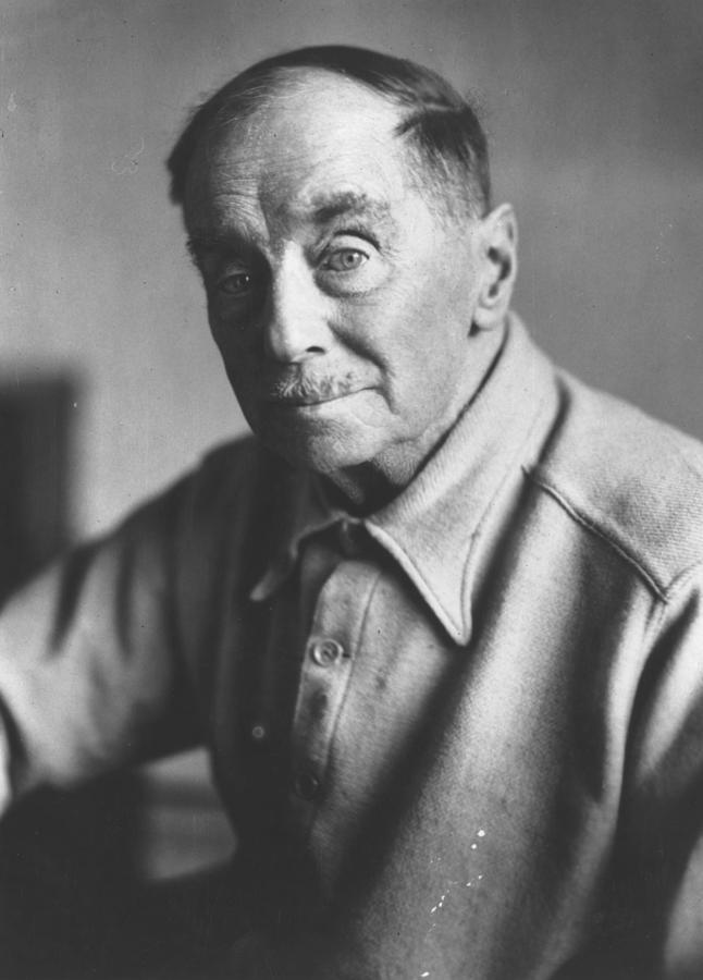 H G Wells Photograph by Keystone